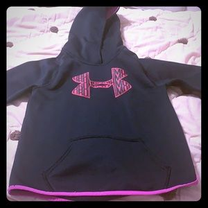 Girls under armor sweatshirt